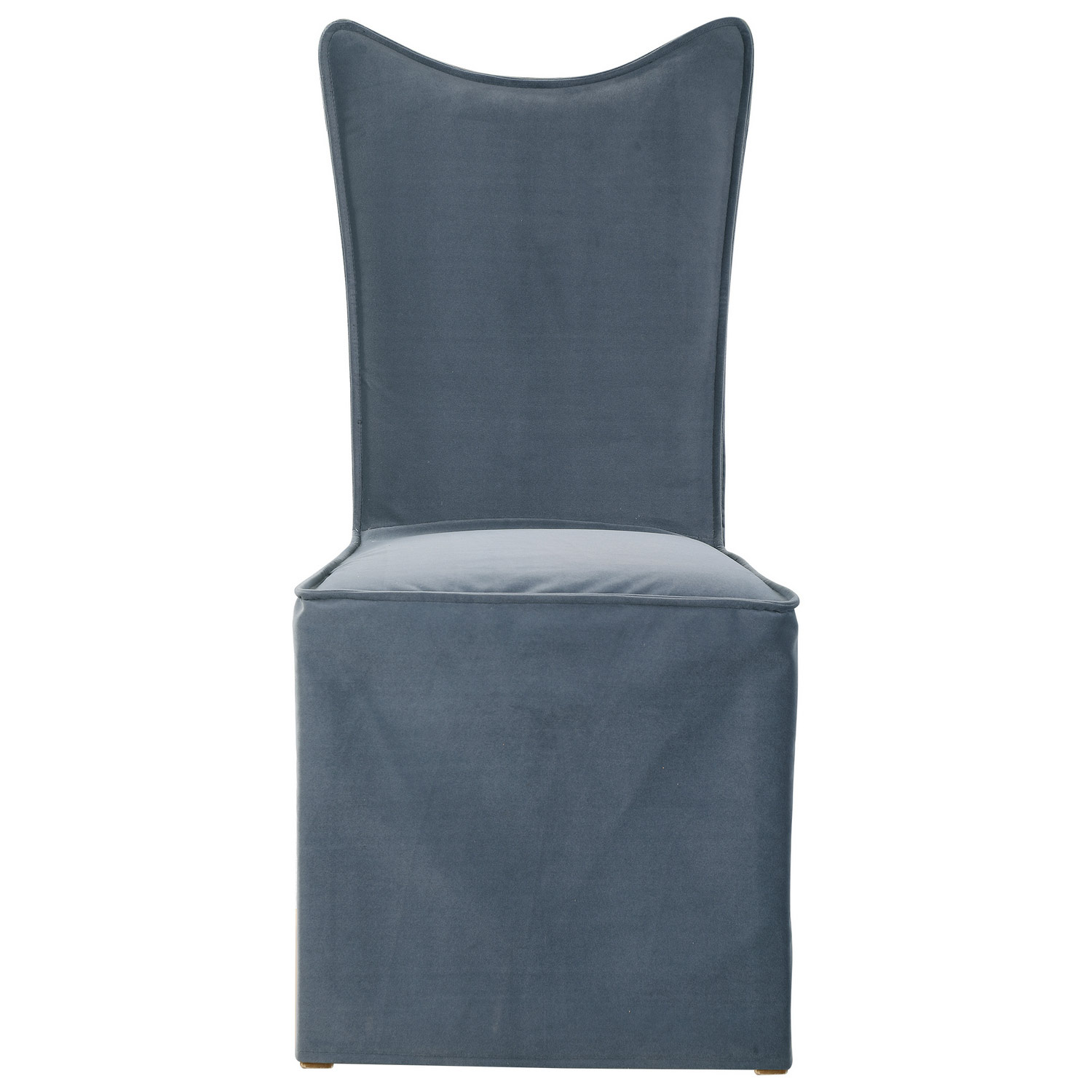Uttermost Delroy Armless Chair - Set of 2 - Gray