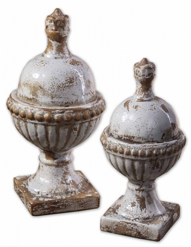 Sini Ceramic Finials - Set of 2