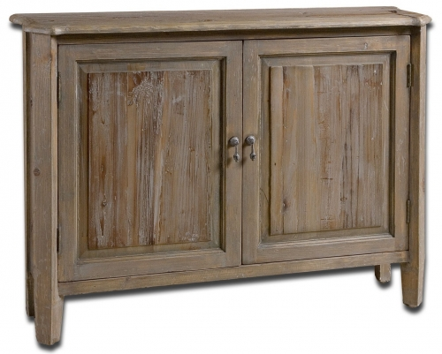 Altair Reclaimed Wood Console Cabinet
