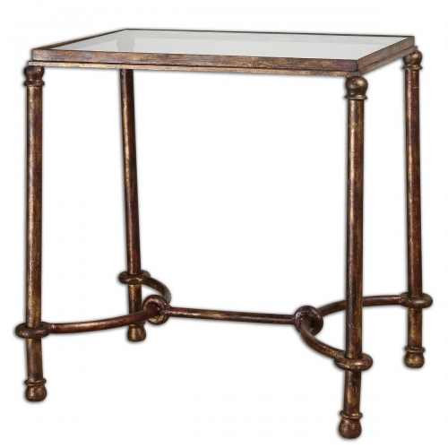 Warring Iron End Table