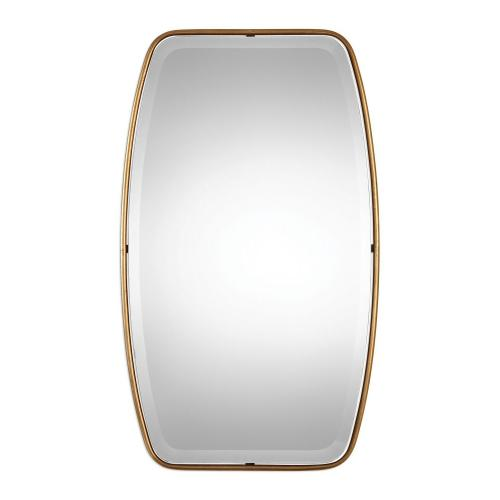Canillo Mirror - Antiqued Gold