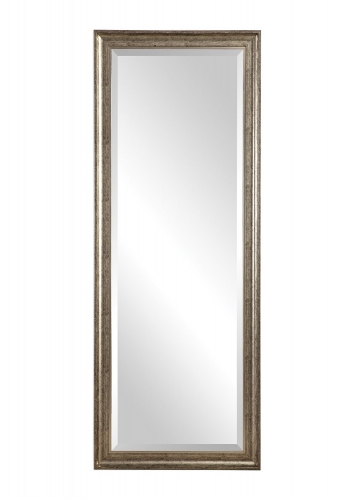 Aaleah Mirror - Burnished Silver