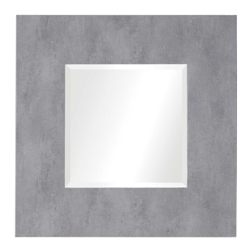 Rohan Square Mirror - Light Gray