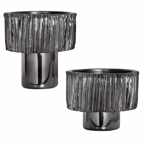 Zosia Bowls - Set of 2 - Nickel