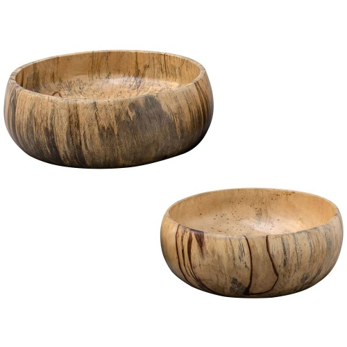 Tamarind Wood Bowls - Set of 2