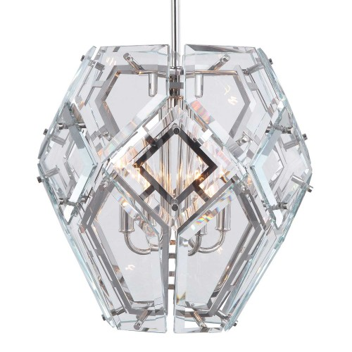 Noorvik 4 Light Pendant - Geometric