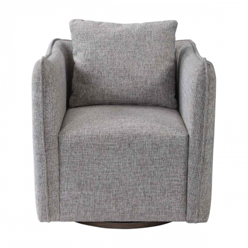 Corben Swivel Chair - Gray