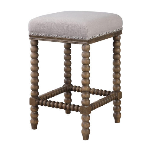 Pryce Wooden Counter Stool