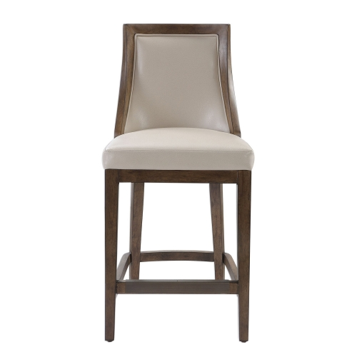 Purcell Leather Counter Stool