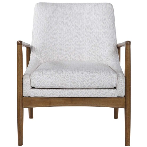 Bev Accent Chair - White