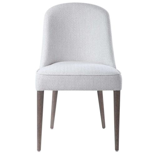 Brie Armless Chair - Set of 2 - White