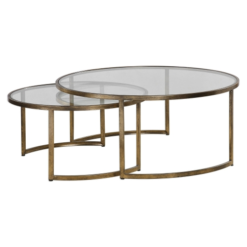 Rhea Nested Coffee Tables - Set of 2