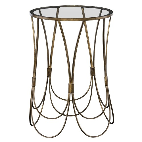 Kalindra Accent Table - Gold