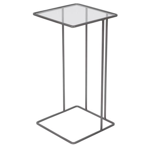 Cadmus Pewter Accent Table