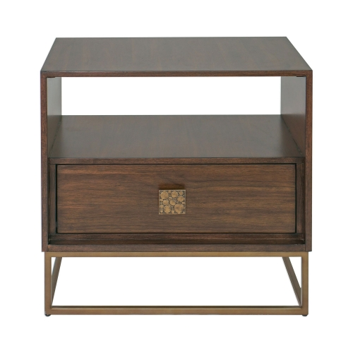 Bexley Side Table - Walnut