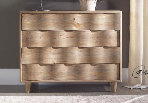 Crawford Accent Chest - Light Oak