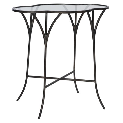 Adhira Glass Accent Table