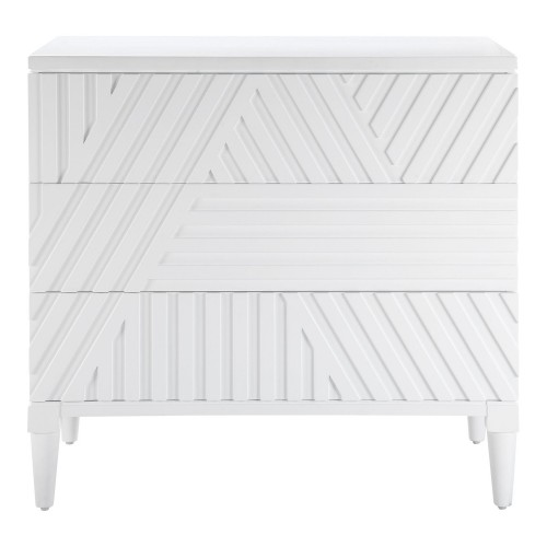 Colby Drawer Chest - White