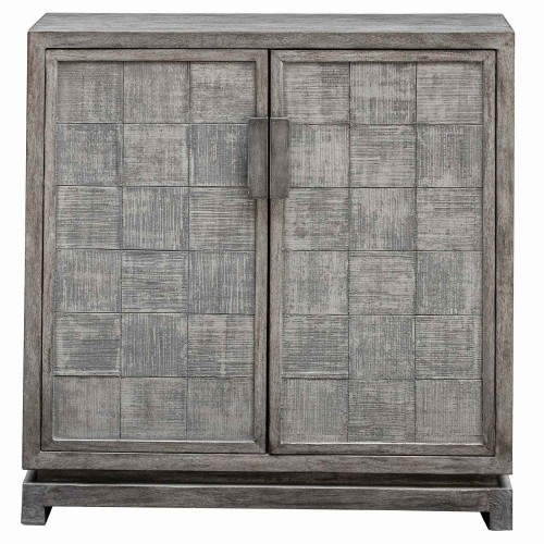Hamadi 2 Door Cabinet - Distressed Gray