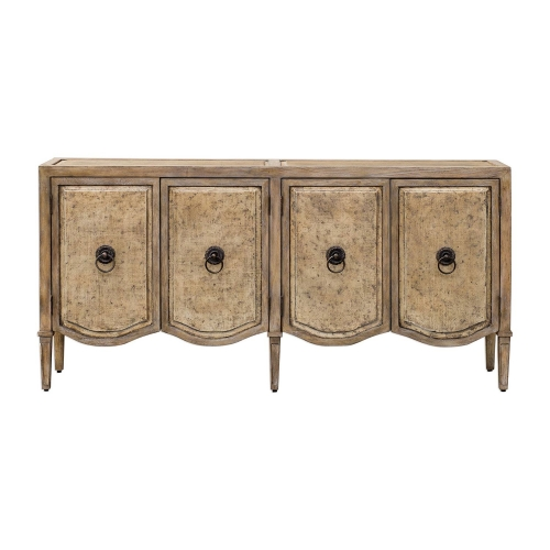 Thina Console Cabinet - Champagne
