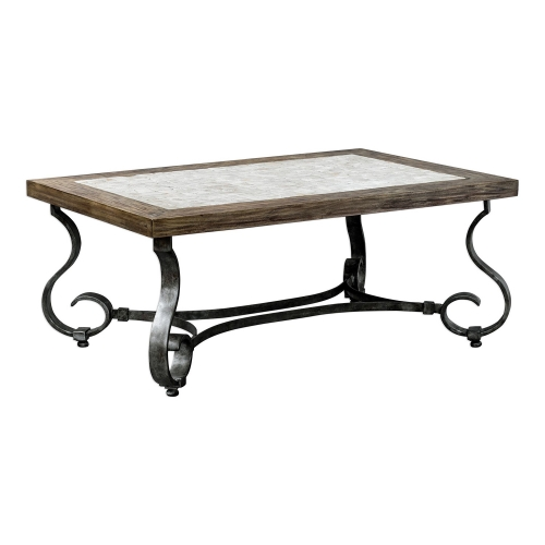 Mona Stained Coffee Table - Light Honey