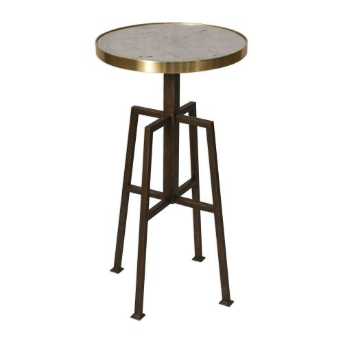 Gisele Round Accent Table
