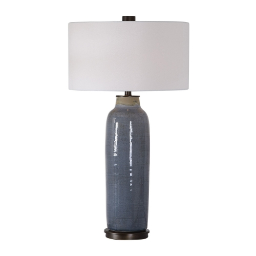 Vicente Table Lamp - Slate Blue