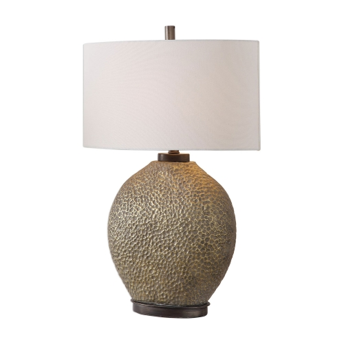 Aker Table Lamp - Golden Bronze