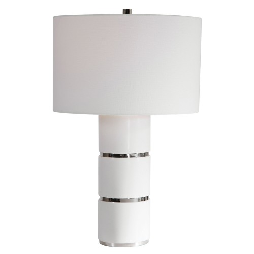 Grania Table Lamp - White Marble
